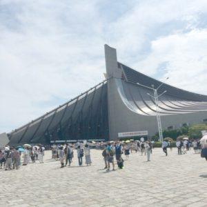 オリンピック日本代表選手団応援イベント 代々木体育館