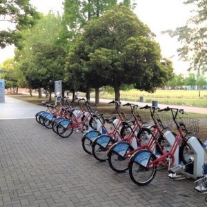 コミュニティサイクルで自転車通勤