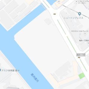 塩浜1丁目 備蓄倉庫 売却決定
